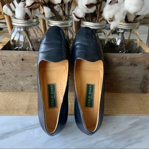 GENTLY Worn•••Cole Haan Navy Kathan Loafer, 8.5 AA
